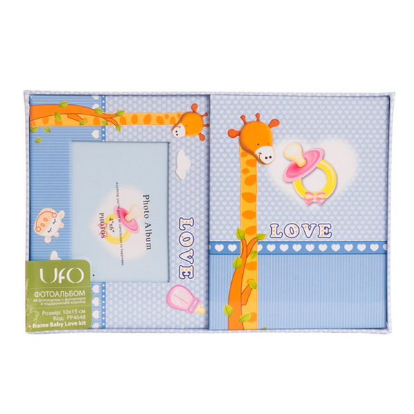 Фотоальбом UFO 10x15x48 PP4648 + frame Baby Love kit