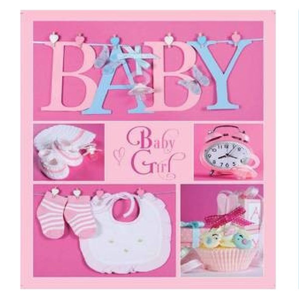 Фотоальбом EVG 10x15x56 Baby collage Pink