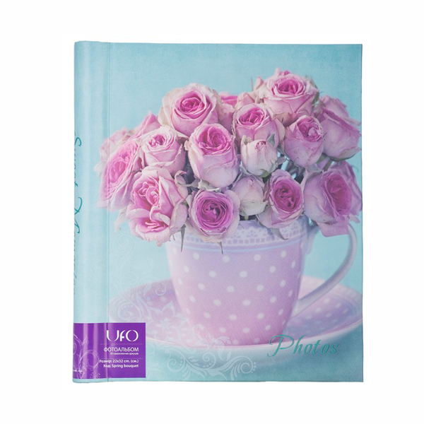 Альбом UFO 20sheet S22x32 Spring bouquet blue
