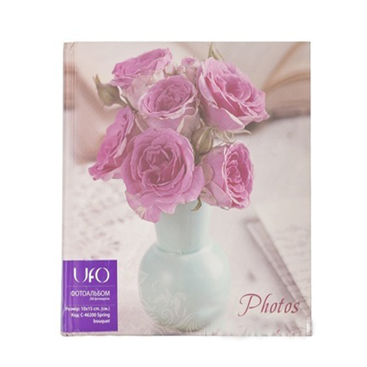 Альбом UFO 20sheet S22x32 Spring bouquet pink
