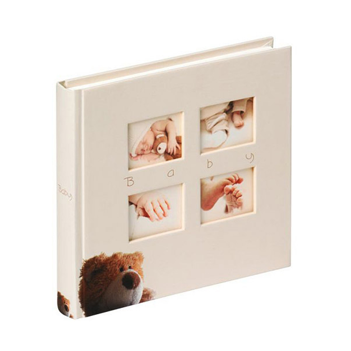 Фотоальбом Walther 28*30,5 Babyalbum Classic Bear 60 pages