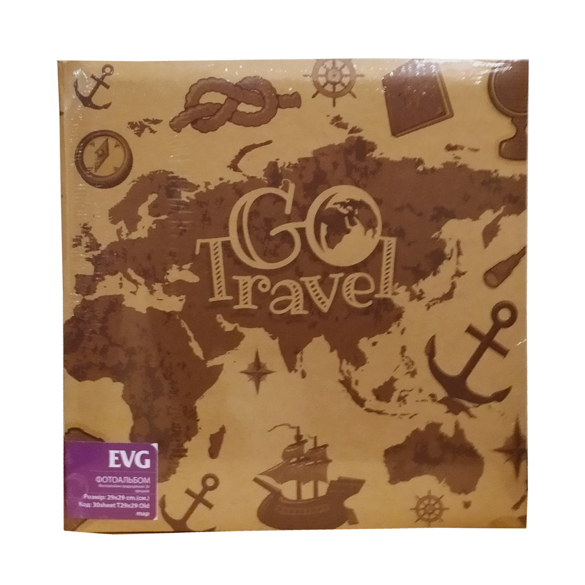 Фотоальбом EVG 30sheet T29x29 Old map